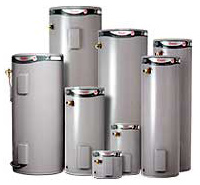 Rheem electric hot water heater systems